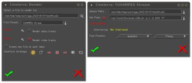 Exporting H 264 from Cinelerra | N1nja Hacks